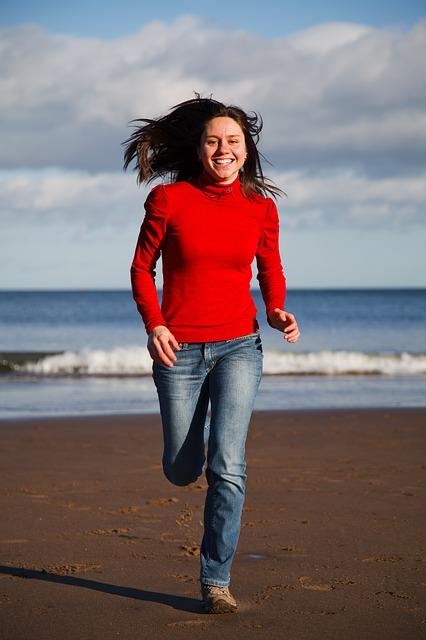 Egal, ob im Park, im Wald oder Strand – Laufen begeistert
