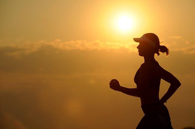 In ansprechender Natur lässt sich besonders gut Laufen